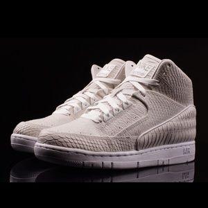 Nike Air Python Premium Metallic Silver - Size 9